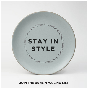 DUNLIN Home, Stay in style
